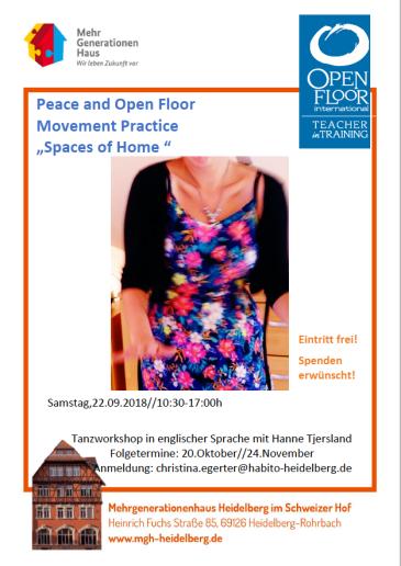 Workshop series Heidelberg: HOME NB! three dates: 22.9, 20.10, 23.11 Facebook: 22.9 20.10 23.11